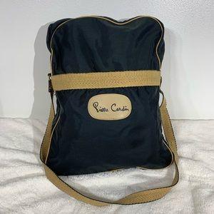 Vintage Pierre Cardin Crossbody messenger Bag